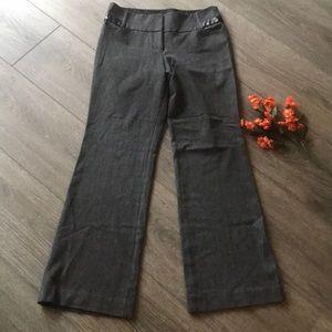 Express editor pants slacks size 6R gray